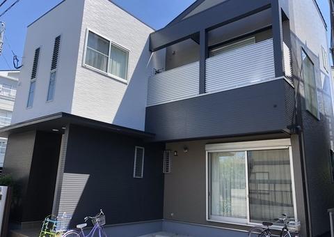7/31完成です。早良区飯倉・H様邸 外壁塗装工事