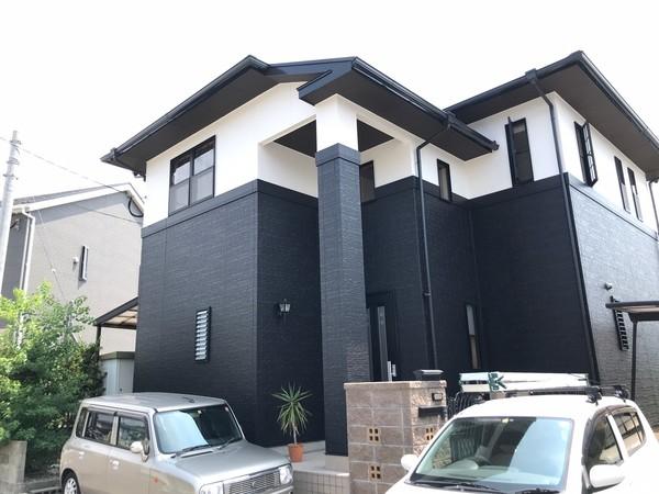 7/31完成です。福岡市東区和白・I様邸 外壁塗装・屋根塗装工事