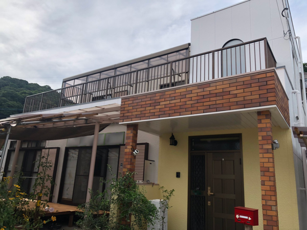 7/30完成です。太宰府市三条・K様邸 外壁塗装工事