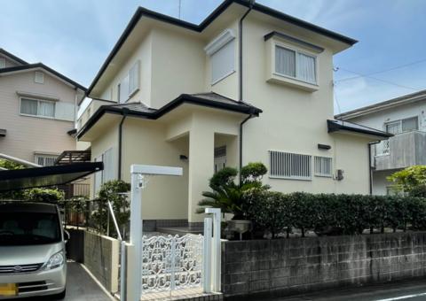 7/30完成です。筑紫野市永岡・T様邸 外壁塗装・屋根塗装工事