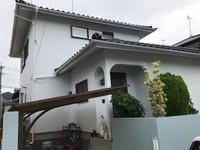 9/14完成です。福岡市東区唐原・T様邸 外壁塗装・屋根塗装工事