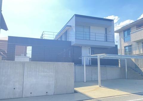 10/1完成です。太宰府市向佐野・F様邸 外壁塗装・防水塗装工事