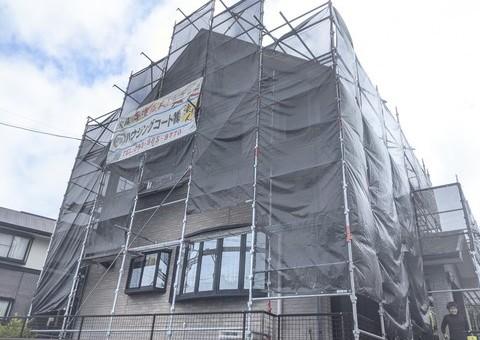 大野城市つつじが丘・S様邸 外壁塗装・屋根塗装工事 9/16着工です。