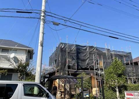 筑紫野市光が丘・T様邸 外壁塗装工事 10/7着工です。