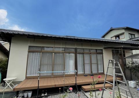 10/20完成です。太宰府市高雄・H様邸 外壁塗装工事
